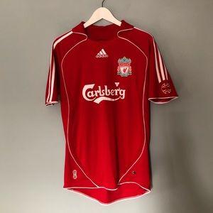 Liverpool Football Club Top Men's Sz S EUC